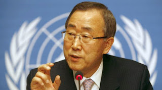 Ban Kimoon, secrtaire gnral de l&#039;ONU