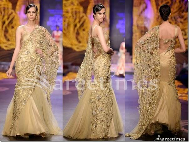 Gaurav_Gupta_Cream_Lehenga_Style_Saree