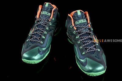 nike lebron 11 gr akron vs miami 6 06 Akron vs. Miami Nike LeBron XI   New Photos