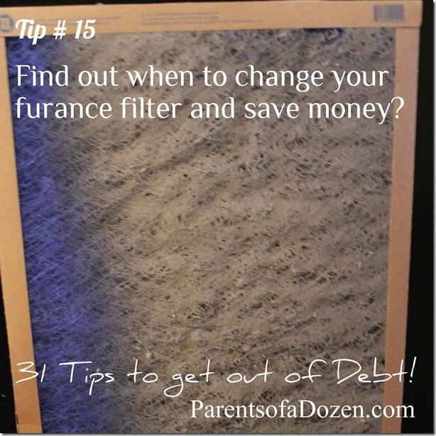 When to change your air furnace filter
