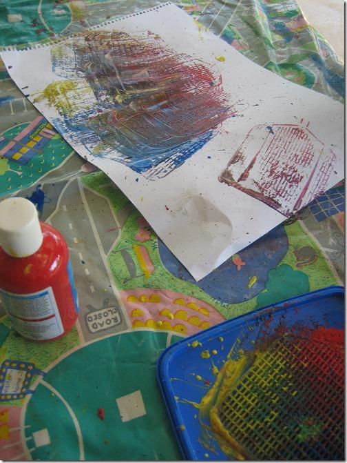 flyswatter painting