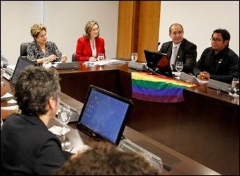 Dilma movimento gay