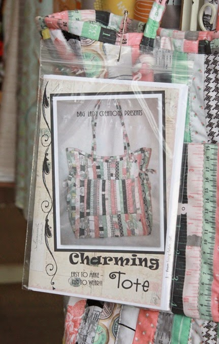 Charming Tote pattern