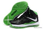 lbj10 fake colorway black green 1 01 Fake LeBron X