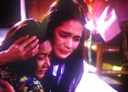Dina Bonnevie and Erich Gonzales in Two Wives
