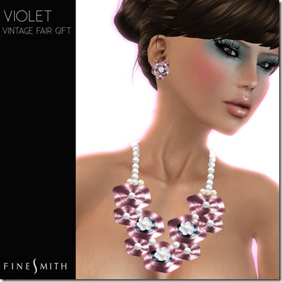 FINESMITH VIOLET- VINTAGE FAIR GIFT