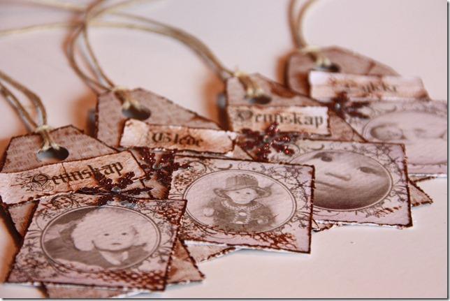 håndlagede merkelapper jul julegaver diy vintage IMG_5509