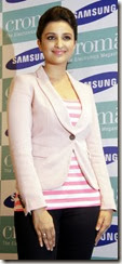 Parineeti Chopra in pink dress at Samsung Galaxy Note 3 launch