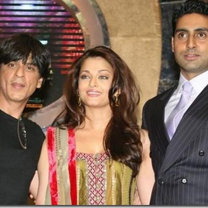 SRK meets Aaradhya Bachchan