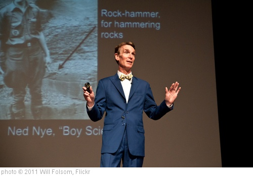 'Bill Nye at Tech | 2' photo (c) 2011, Will Folsom - license: http://creativecommons.org/licenses/by/2.0/