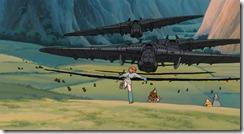 Nausicaa Tolmekian Airships Invade