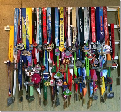 Medal Wall 2014, 12-31