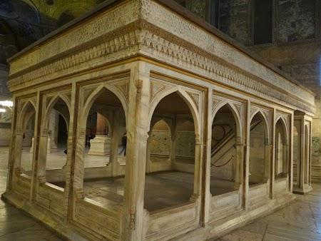 Locul de odihna a muezinului