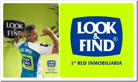 LOOK & FIND desembarca en el mundo pádel y se convierte en patrocinador de Miguel Lamperti.