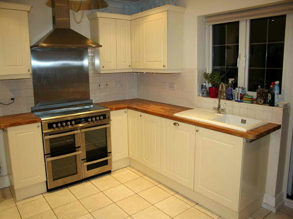 Small Galley Kitchen Makeover With Plain Color Small Kitchen Makeovers
