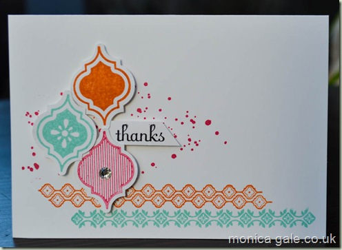 Stampin'Up! Mosaic madness swaps_