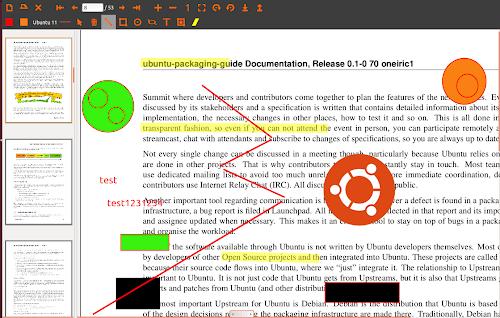uPdf su Ubuntu 12.04