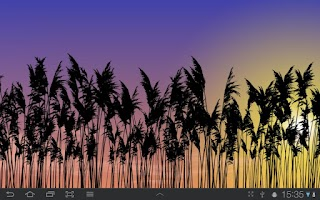 Screenshot of Reeds Live Wallpaper