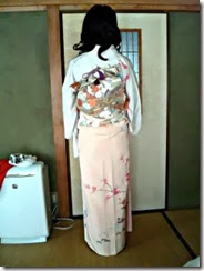 着付師平池さんの出張着付け (2)