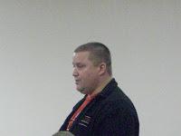 Washington Junior High Principal Curt Mayer