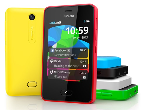 Nokia Asha 501 Color Range