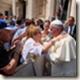 Erika Rosenberg papst Franziskus 1