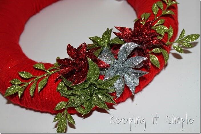 framed Christmas wreath (13)