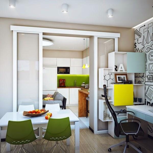 Dise o de departamento minimalista ideal para un hombre for Decoracion minimalista para departamentos