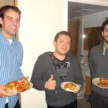 team pizza at MattLAN 12 in Toronto, Ontario, Canada