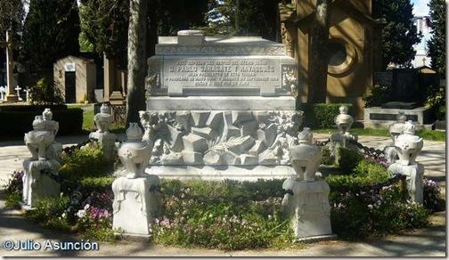 Mauoleo de Pablo Sarasate - Cementerio de Pamplona