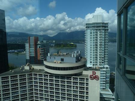 Vederea din camera hotelului Mariott