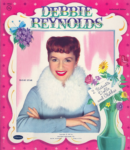 Debbie Reynolds 1957 Whitman #