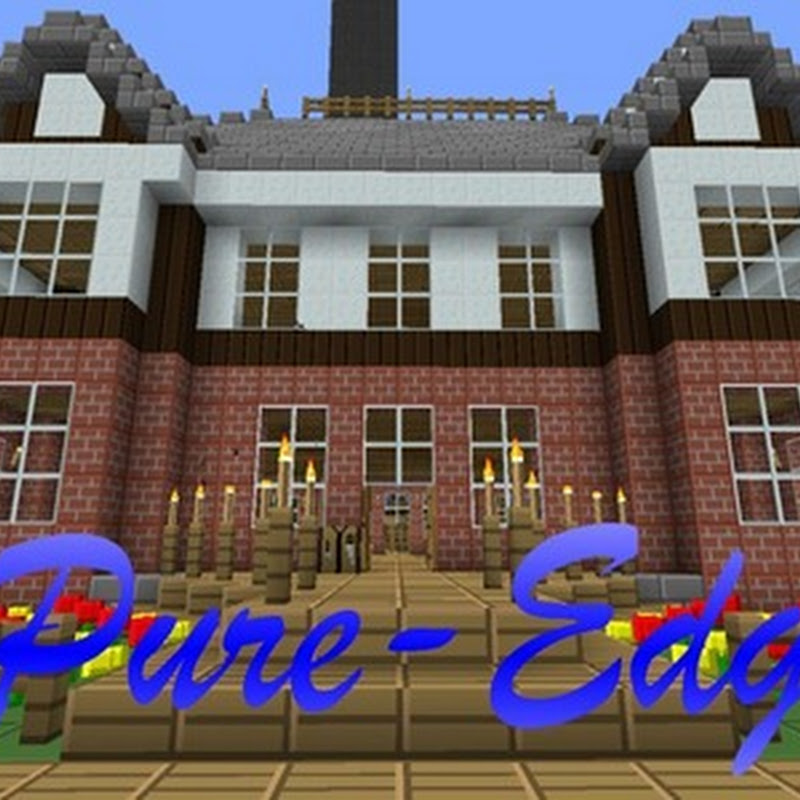Minecraft 1.4.7 - Pure-Edge HD Texture pack 32x