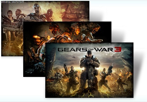 Gears of War 3 Launch theme