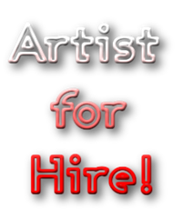 artist for hire