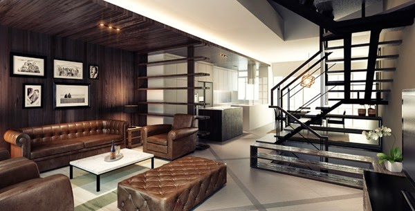 Muebles modernos para living idecorar for Muebles modernos para living