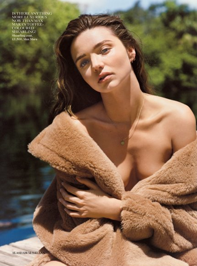 Miranda Kerr on Vogue