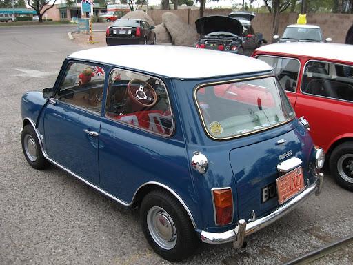 1971 Mini Cooper S - rear