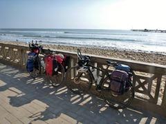The beach in Pacasmayo, Peru.