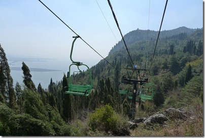 chair lift of West Moutain, Xi Shan 西山