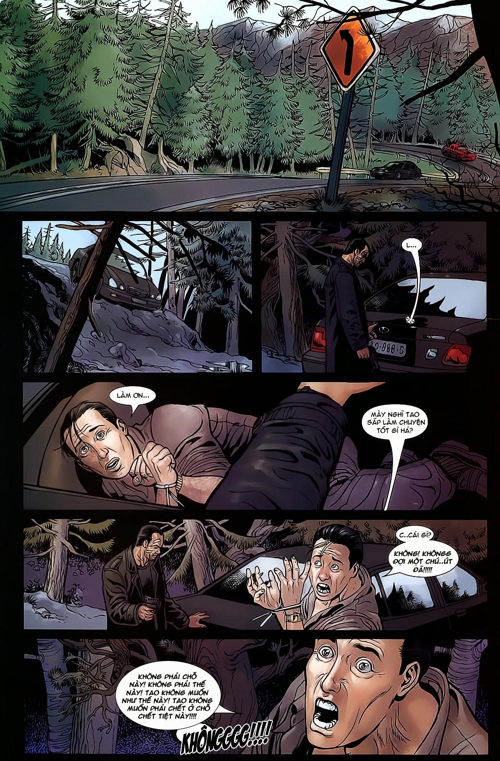 The Punisher: Trên là Dưới & Trắng là Đen chap 6 - Trang 21