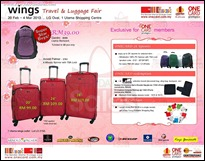 Wings Travel & Luggage Fair 2013 Branded Shopping Save Money EverydayOnSales