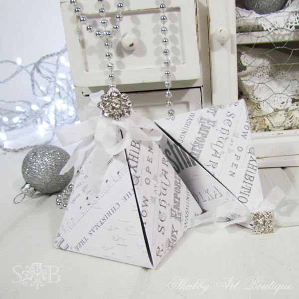 Shabby Art Boutique Pyramid Box 6