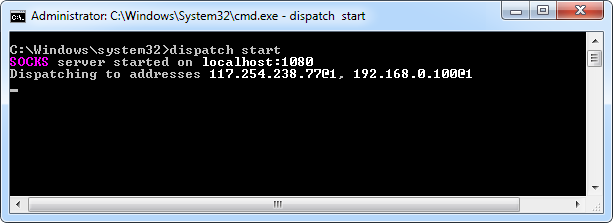 dispatch-start