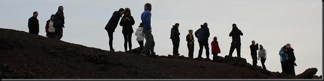 PGCE Study tour Kerid crater