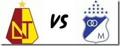 Tolima vs Millonarios en vivo