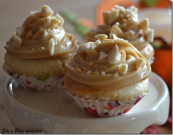 Erdnussbutter Cupcakes (35)