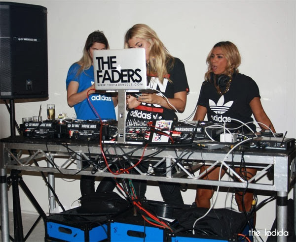 The Iconic x Adidas - Launch in Sydney - Faders DJs