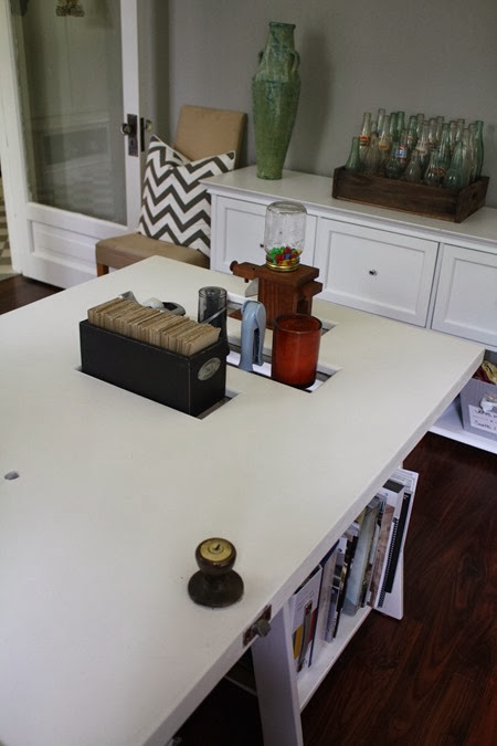 DIY door turned desk