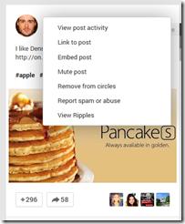 Embed Post Google Plus